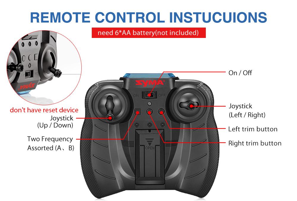 RC Toy Control Gyro 17