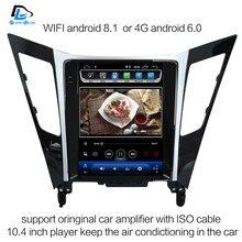 2G di RAM Verticale dello schermo di android 8.1 gps per auto multimedia video radio player in dash per Sonata 8 2013- 2015 auto di navigazione utilizzabile