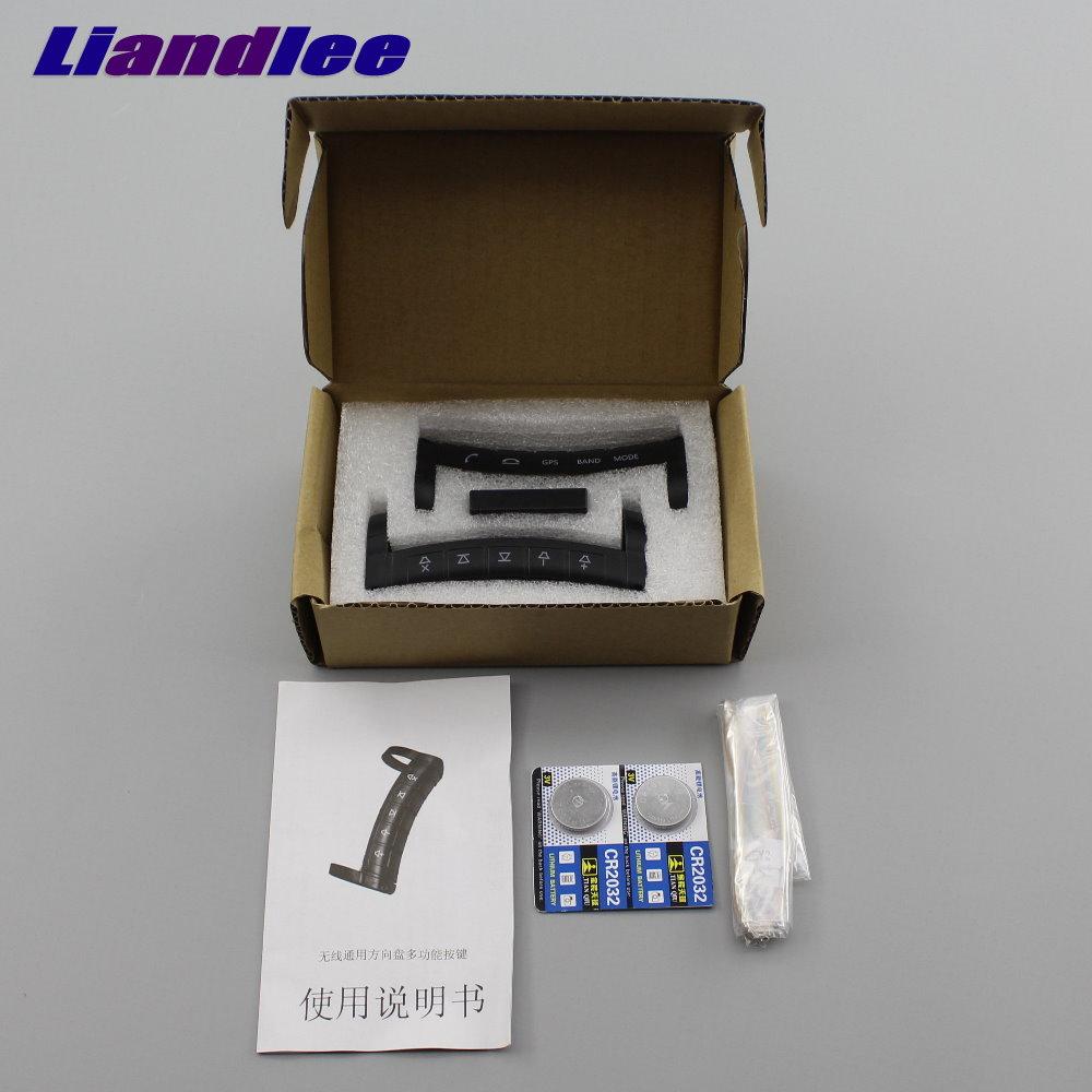 Liandlee Car steering wheel remote controls universal wireless multi function DVD navigation universal wireless remote control