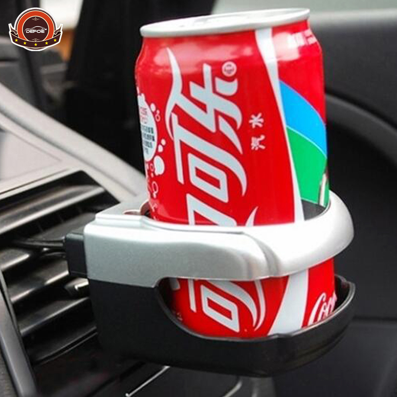 Top salg bil cup holder Air Condition drikkeholder Vandholder Flaskeholder Coffee Cup Mount Stand Holder Tilbehør freeshipping