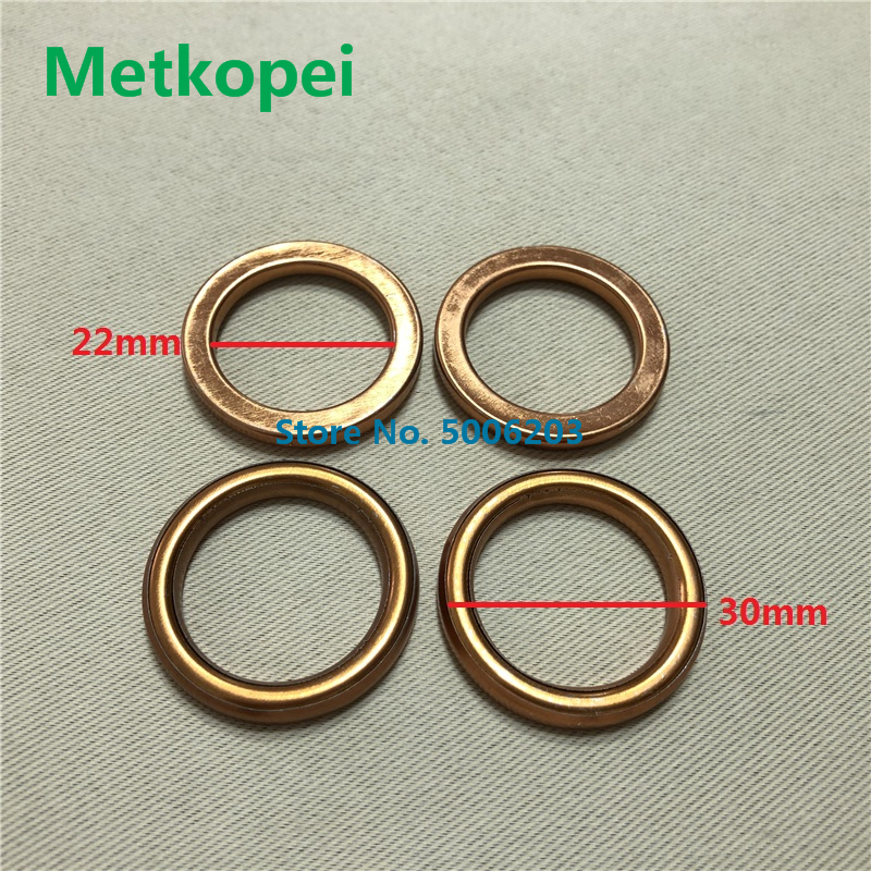Scooter Moped GY6 DIO JOG BWS WH125 AN125 WH125 XV250 Exhaust Pipe Muffler Header Gasket  Seal O-Ring For 50cc 60cc 90cc 125cc(China)