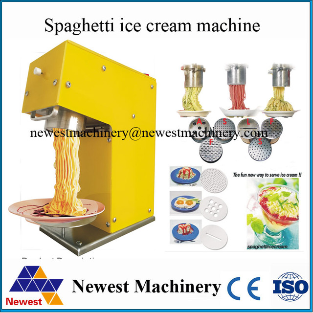 g nstigen preis mit 5 form gelato eis spaghetti maschine italienischen gelato spaghetti. Black Bedroom Furniture Sets. Home Design Ideas
