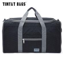 TINYAT Male Men Travel Bag Folding Bag Protable Molle Women