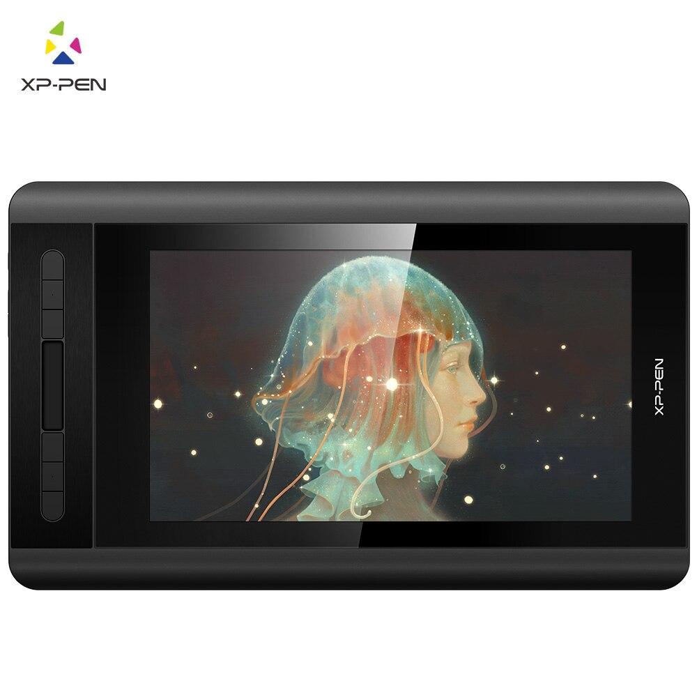 Цифровой графический дисплей для рисования XP-Pen Artist 12 1920X1080 HD ips с горячами клавишами и сенсорной панелей (+ стилус P06)