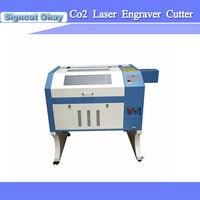 Fabrik preis wassergekühlten 50 Watt 60 Watt 80 Watt 90 Watt 4060 CNC laser graviermaschine für verkauf