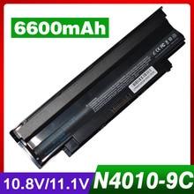 6600 мАч ноутбука Батарея для Dell Inspiron N7110 J1KND 13R 14R N3010 N5110 N4010 N4010D N5010 N7010 N4050 N5010D N3110 N4110