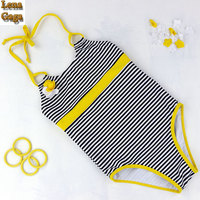 Lena Gaga 2017 Kids Swimsuit For Girls One Piece Suit Character Swimsuit Girl Bath Suit Children