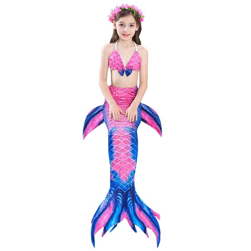 girls mermaid tail swimwear 4-1