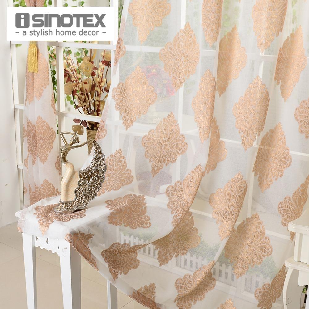 braun voile vorhänge-kaufen billigbraun voile vorhänge ... - Vorhange Wohnzimmer Braun