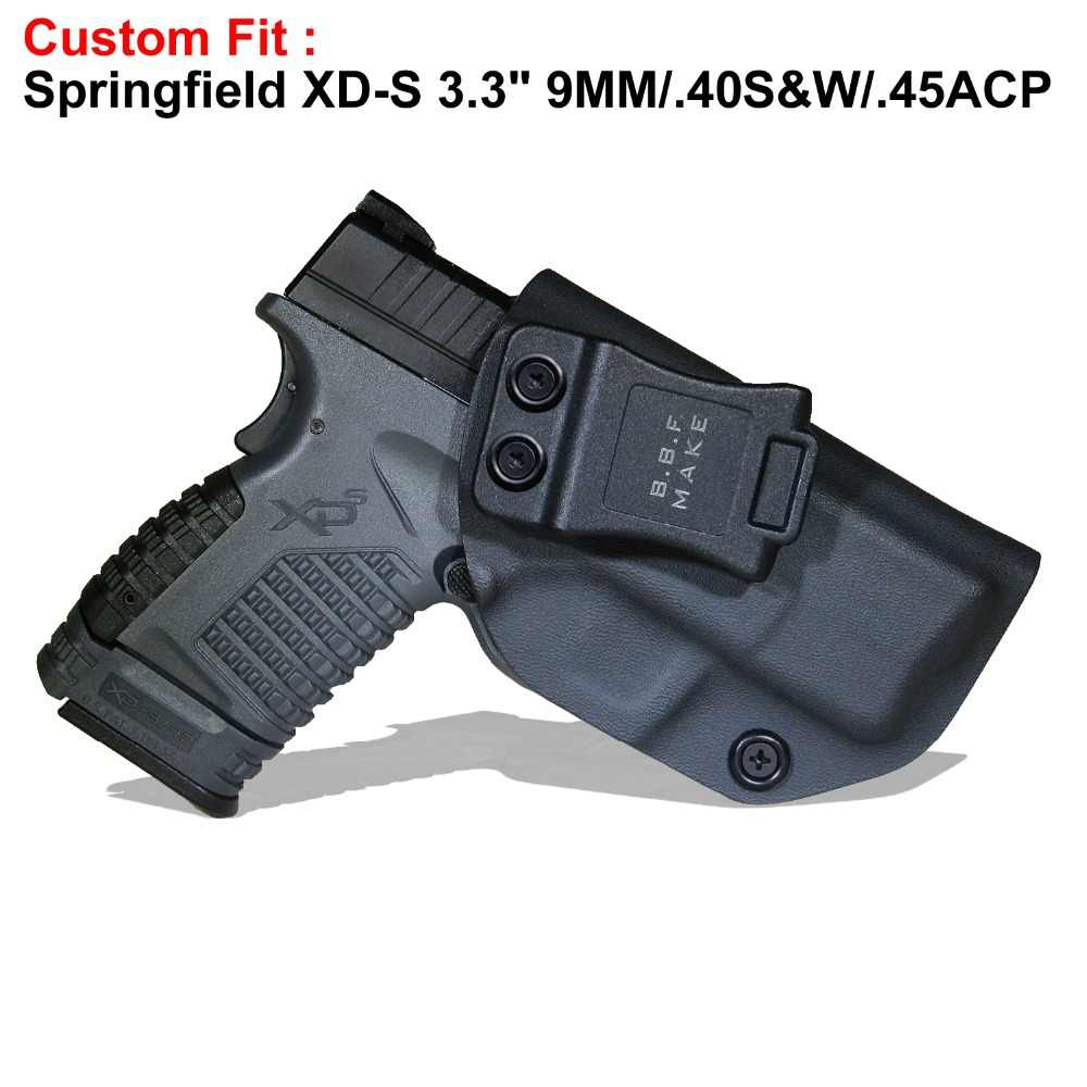 B B F Make IWB KYDEX Holster Fits: SpringField XD S 3 3