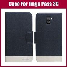 Лидер продаж! Jinga Pass 3g чехол Новое поступление 5 цветов модный флип ультра-тонкий кожаный защитный чехол для Jinga Pass 3g чехол