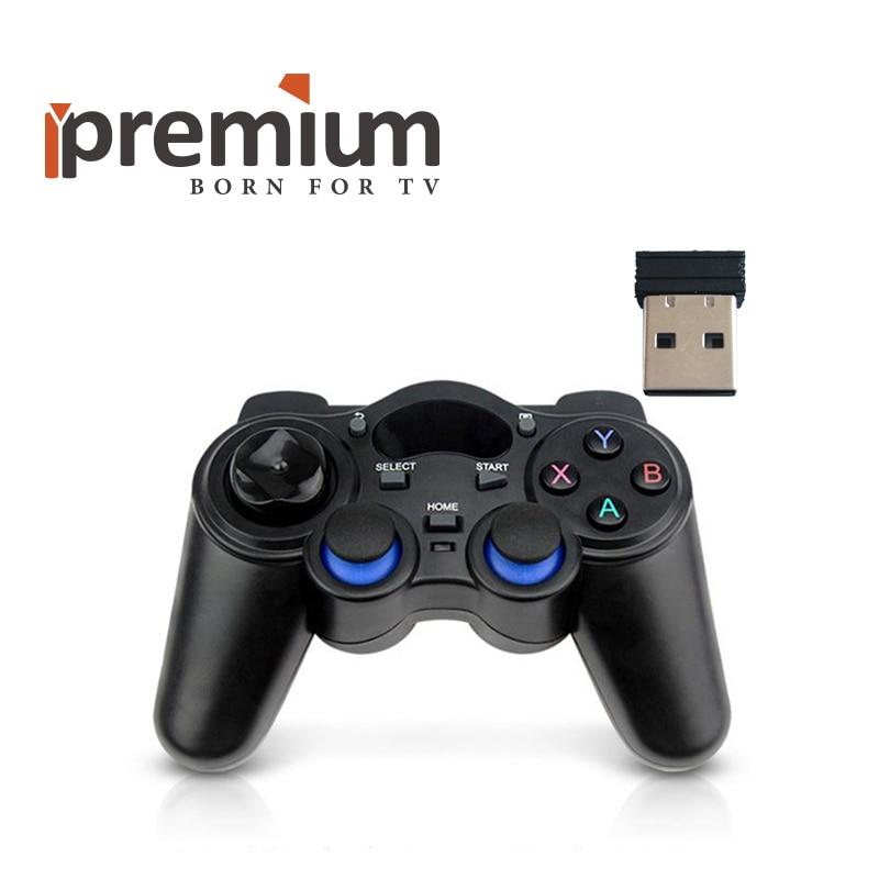 2.4 GHz Sans Fil Intelligent de Contrôleur de Jeu Gamepad Joypad Joystick Game Pad Pour TV BOX/PS3/PC