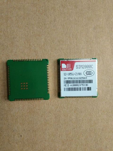 SIM2000C  CDMA1X  SMT simcom 100% New&Original Genuine Distributor In the stock 1PCS Free Shipping
