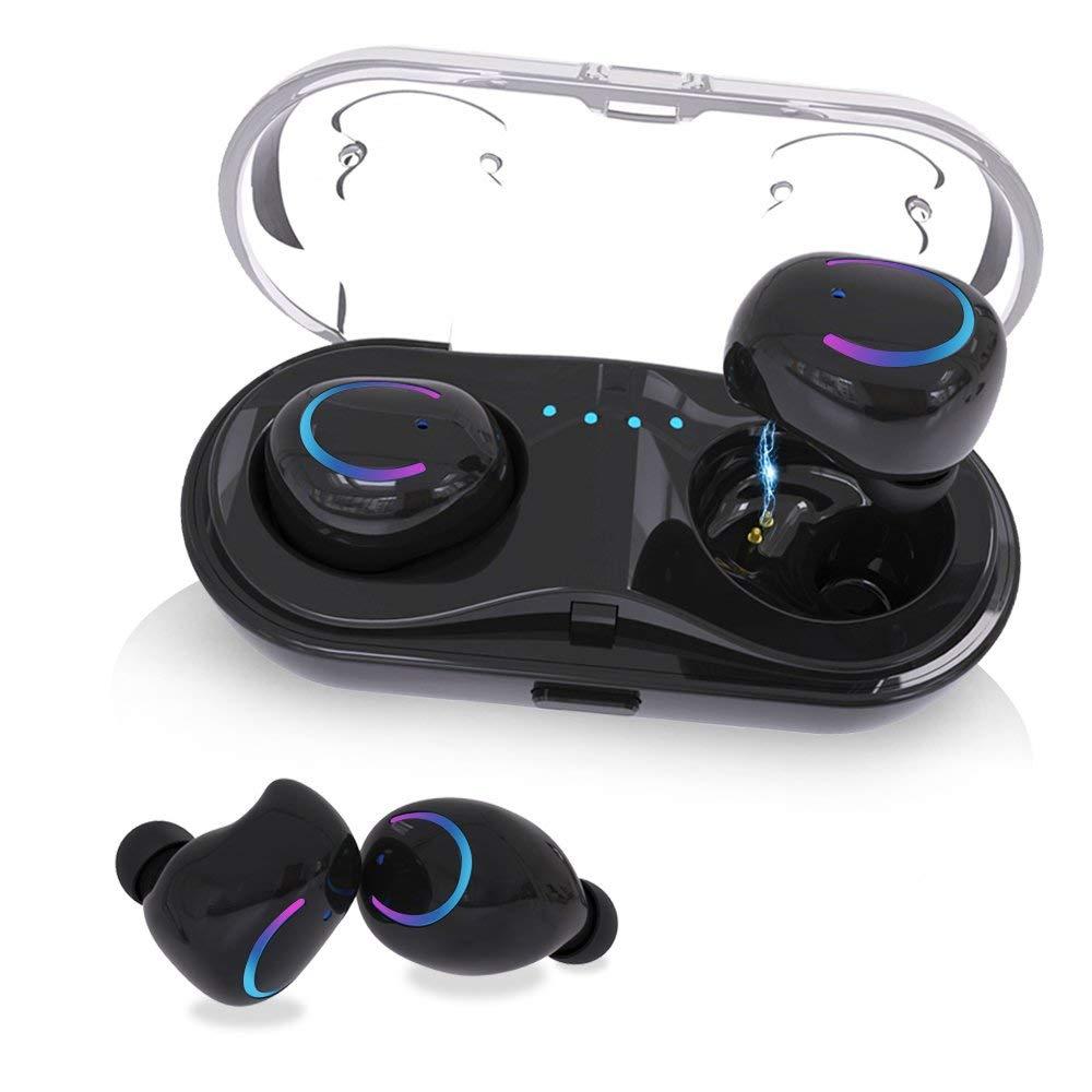 Inalámbrica Bluetooth auriculares en la oreja los auriculares estéreo Auriculares auriculares deportivos TWS con micrófono para xiaomi samsung iphone