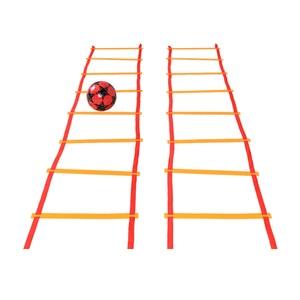 Image 2 - Aide pédagogique préscolaire, jouet de sport, marelle, sauter à la grille, entraînement dintégration sensorielle, plein air, amusant, jeu, cercle