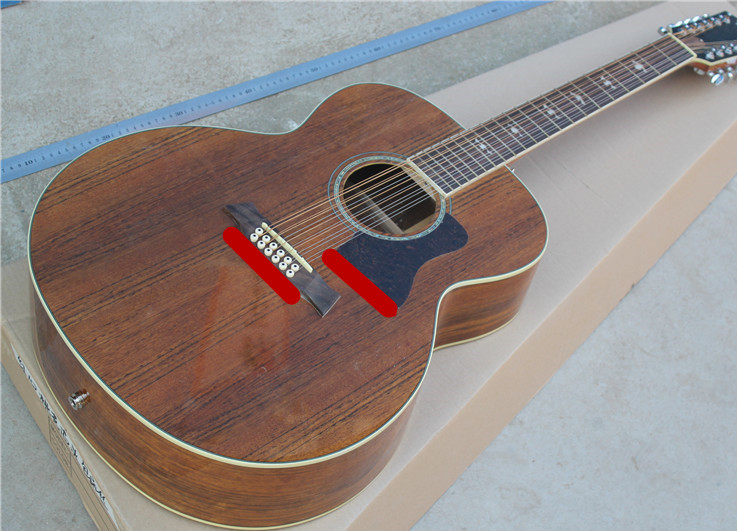12 strings koa K55 acoustic guitar koa 12 string K55e acoustic electric guitar handmade koa acoustic