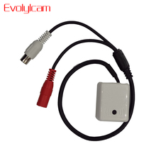 Evolylcam MINI Audio MIC For Security DVR Camera System Cable CCTV Microphone Sound Signal Device Wide