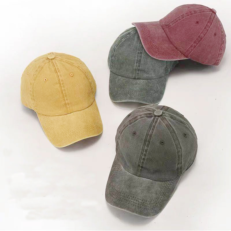 2019 latest   baseball     cap  . Cotton wash with water to make old   cap   for men and women.