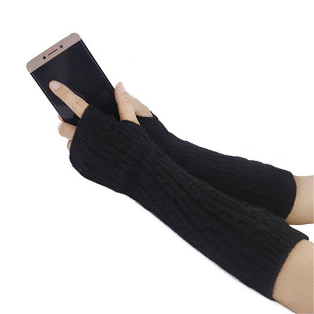 Fingerless Gloves Winter...