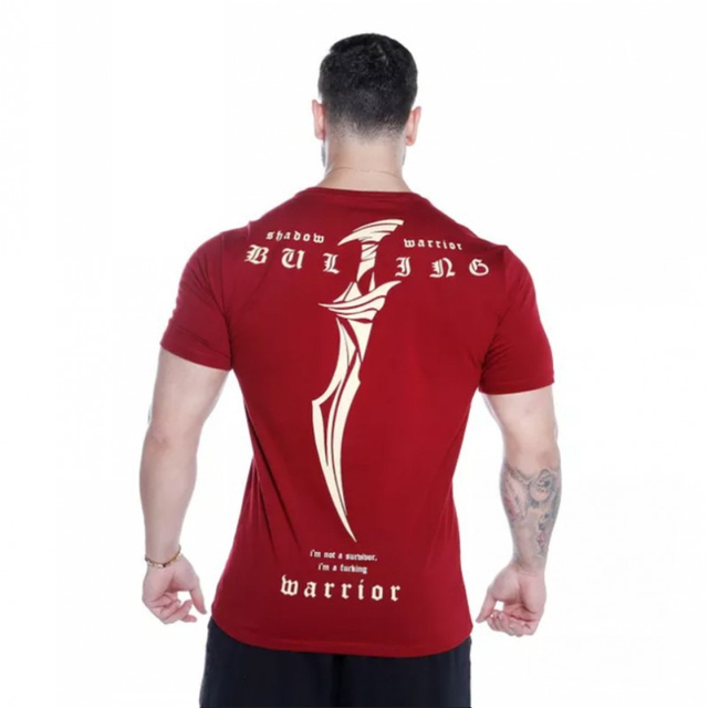 40c3e2f9d87 New Summer The Stadium Stringer brand T-shirt Man Fashion Bodybuilding And  Fitness Crime Short Sleeve T-shirt large-type M-XXL