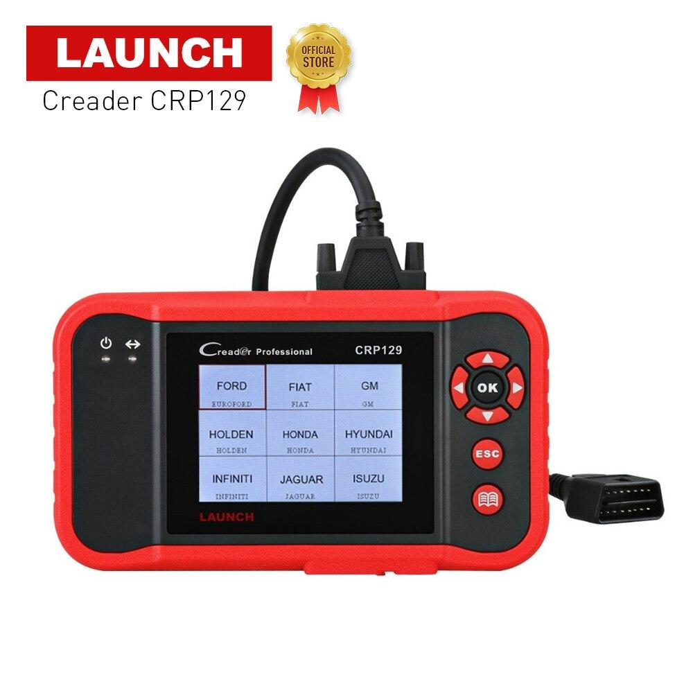 Launch CRP129 EOBD ENG/AT/ABS/SRS EPB SAS Oil сброс OBD2 диагностический сканер авто читальный инструмент кодов инструмент сканирования