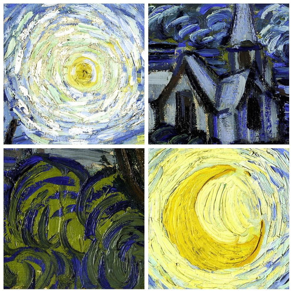 Aliexpress.com : Buy Starry Night Vincent Van Gogh Famous Artist ...