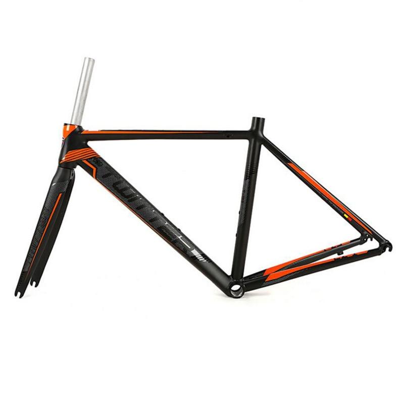 Road-Bike-Frame Carbon-Fork Aluminium-Alloy 700c-Wheel 48/50/52cm