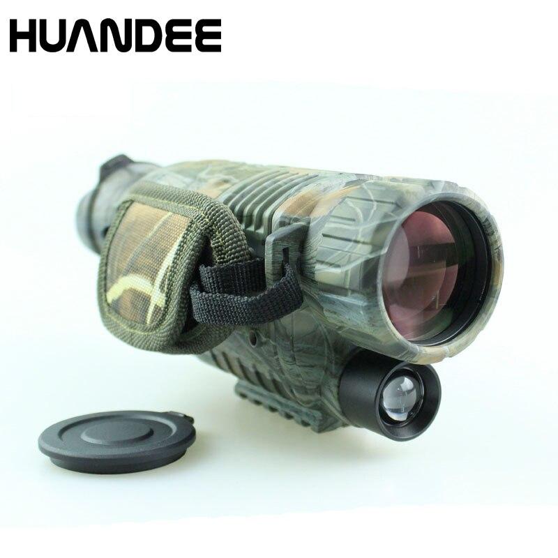 Nuovo Camouflage 5X40 CCD IR di visione notturna digitale della macchina fotografica video recorder full dark night vision monoculare di visione notturna dispositivo