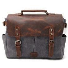 Batik maletín Retro de lona impermeable para cámara, bolsos de hombro de viaje, Vintage, para Canon, Nikon, Sony