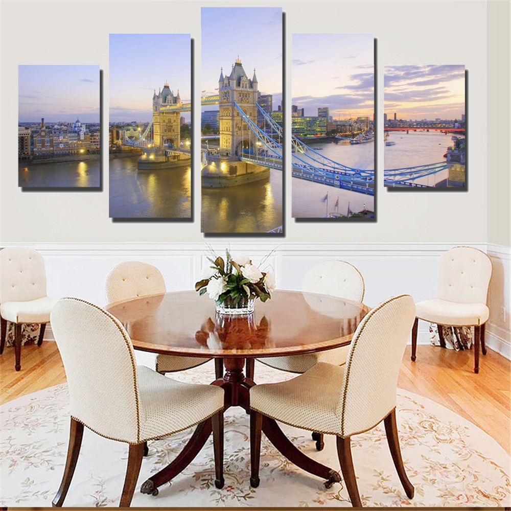 popular famous sunset paintings buy cheap famous sunset paintings lots from china famous sunset. Black Bedroom Furniture Sets. Home Design Ideas