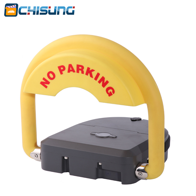 Professional IP68 waterproof remote control automatic parking lock parking barrier with alarm function half ring shape of the block machine parking barrier lock