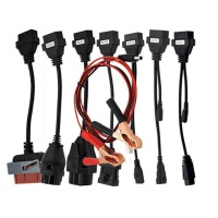 Full set car 8 cables for TCS CDP mvd Multidiag pro OBD2 car leads diagnostic tool interface scanner Truck 8 cables
