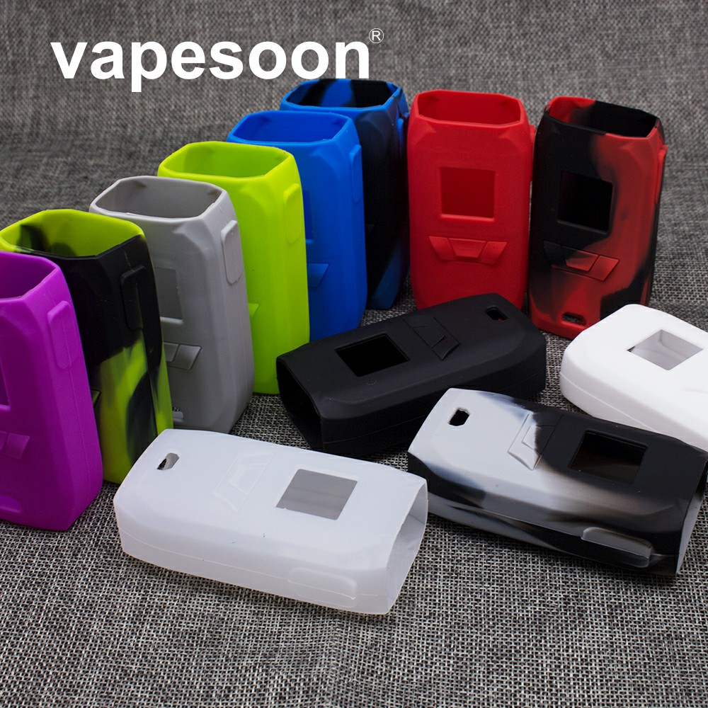 3pcs Protective Silicone Case For Vaporesso Revenger Kit Revenger <font><b>220</b></font> Mod Colorful Silicone Case image