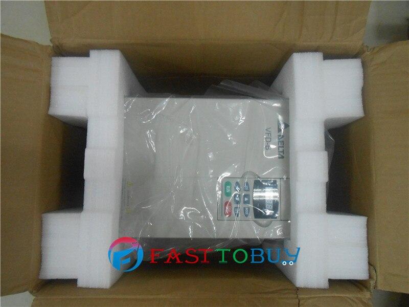 Inversor Delta VFD Unidad de frecuencia Variable VFD150B23A 3 fases 220 V 15KW 20HP 0,1 ~ 400Hz tallado en madera y máquina Herramienta