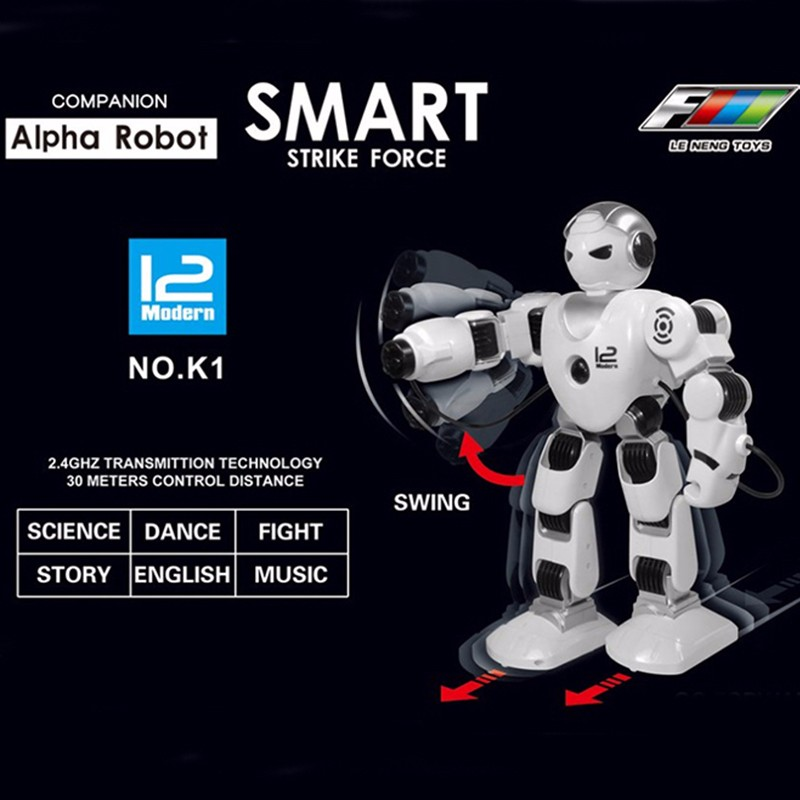 Télécommande intelligente robot jouet pour chien tir robot de combat jouet donne aux enfants le meilleur cadeau