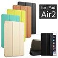 Couro de alta qualidade pu tablet tampa da caixa inteligente ultra slim designer para apple ipad air 2 ipad6 ar2 retina