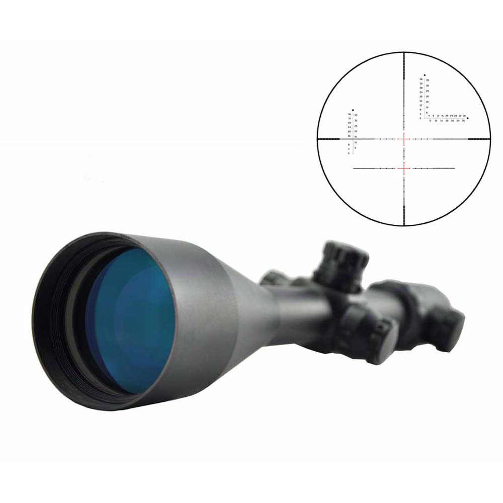Visionking 2.5-35x56 Optical Hunting Riflescope Military 14 Times Zoom Accurate Reticle Calibrated Sight W/21mm Mounts&Sunshade