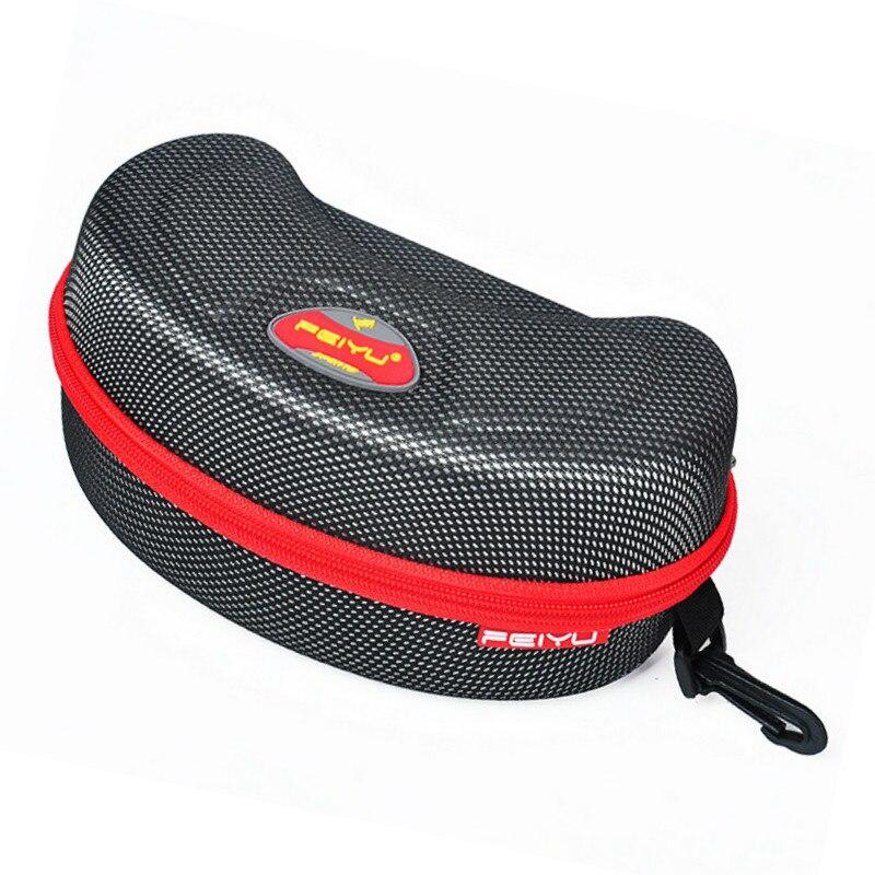Prix pour Sports de plein air Ski Lunettes Boîte Moto Cyclisme vélo Motoneige Lunettes planche à roulettes lunettes Lunettes Dur Protecteur Sac Cas