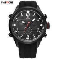 Fashion Relogios WEIDE Men LED Watch Functional Sport Watch Men Digital Quartz Watch Men Alarm Rubber
