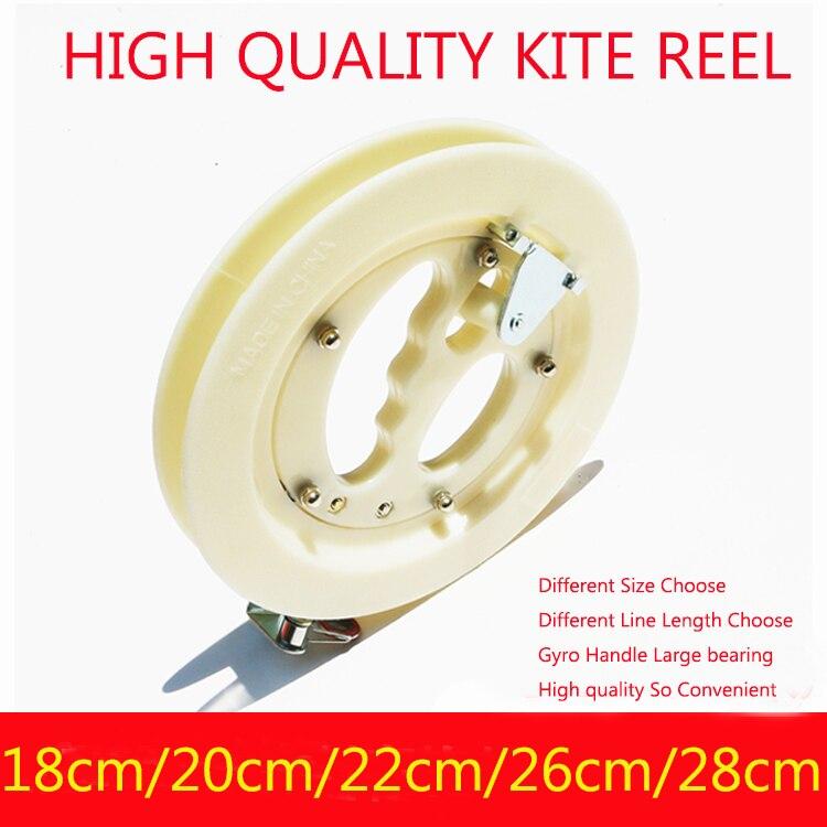 Envío gratuito alta calidad venta al por mayor carrete de cometa para niños kite weifang kite fábrica rueda pulpo kite kevlar línea de Juguetes