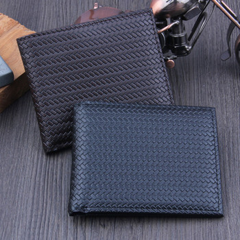 Naivety Men Bifold Business PU Leather Wallet