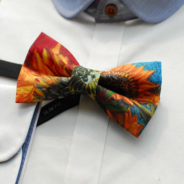 2016 moda homem gravata borboleta de seda impressão gravata borboleta masculino gravata lazer gent mariage casamento gravatas designer casual desgaste do pescoço