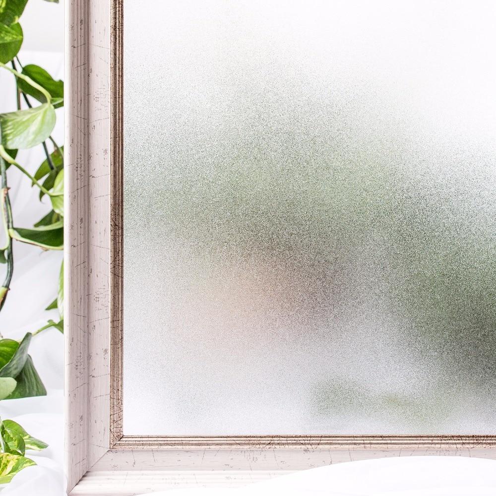CottonColors Okenní nátěr na nátěr nelepivý Static Home Decor Koupelna Ochrana soukromí Skleněná samolepka Velikost 60 x 200Cm