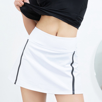 2019 arrival women short miniskirts high waist tennis clothing gym fitness skirts with safety pants tennis pants shirts