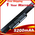 5200 мАч Корея Сотовый Оригинальный Аккумулятор для ASUS X54C X54H X54HR X54HY X54L X54LY Ноутбука A41-K53 A32-K53 6 клетки K53