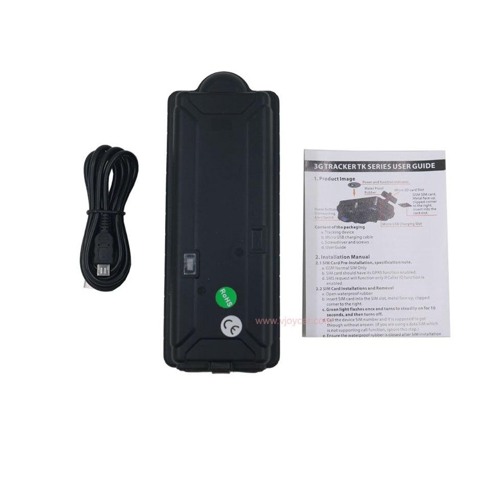VJOYCAR 3G WCDMA GPS Tracker Werk Wereldwijd 20000 mAh Grote batterij - Auto-elektronica - Foto 5