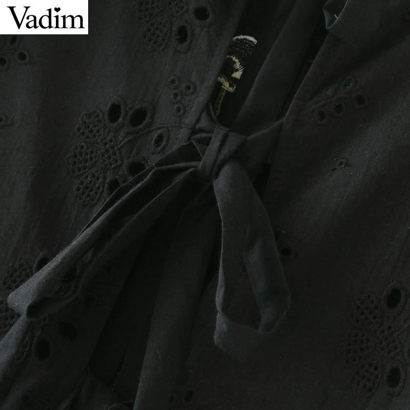 HTB16q3kQFXXXXbrXFXXq6xXFXXXY - women sweet ruffles floral embroidery short sleeve tops blusas