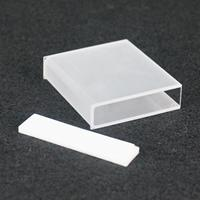 50mm JGS1 Quartz Cuvette Cell With Telfon Lid For Uv Spectrophotometers