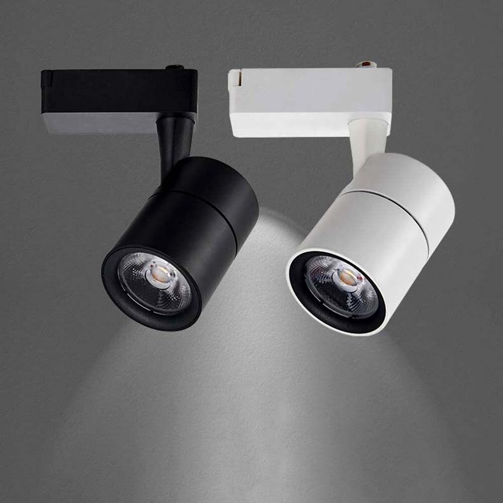 LED Track Light 20W 30W COB Track Lamp Lights Rail Spotlights Leds Tracking Fixture Spot Lights Reflectors For Clothes Store