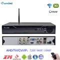 1080N 4 Kanaals h.264 DVR Wifi 4CH 5 in 1 Dvr Recorder XMEYE security P2P Cloud Onvif HDMI VGA voor 1080P 720P AHD TVI IP Camera